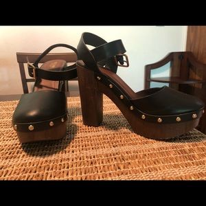 Black & Brown Mossimo Heels from Target